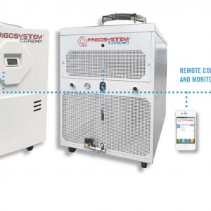 Portable industrial chillers